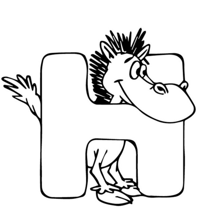 Top 10 Free Printable Letter H Coloring Pages Online