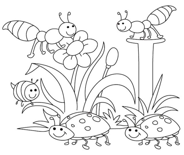Top  Free Printable Spring Coloring Pages Online
