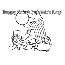 top 25 free printable st patrick 39 s day coloring pages online