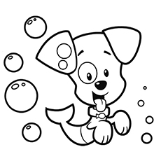 bubble guppies coloring page # 50