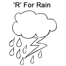 letter r coloring page # 10