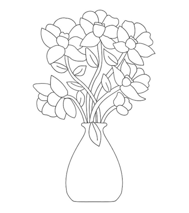 Top 16 Free Printable Flowers Coloring Pages Online