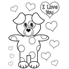 printable valentines day coloring pages # 0