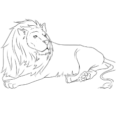 top 20 free printable lion coloring pages online