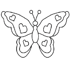 top 25 free printable butterfly coloring pages online