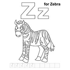 top 10 free printable letter z coloring pages online