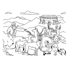Bible App for Kids Coloring Sheets | 230x230