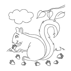 fall coloring pages printable free # 14