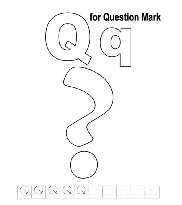 Top 16 Free Printable Letter Q Coloring Pages Online