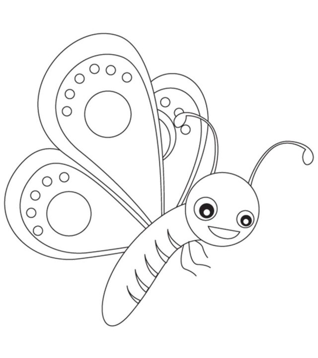 Top 12 Free Printable Butterfly Coloring Pages Online