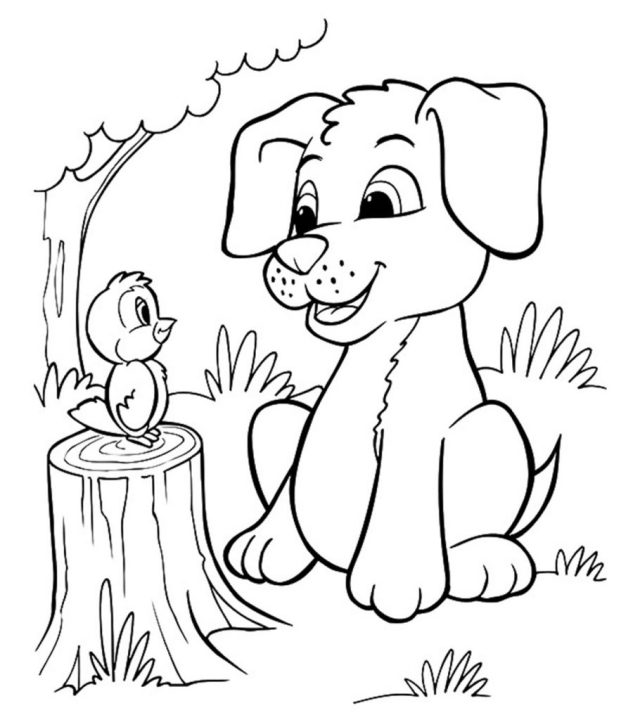 Top 22 Free Printable Puppy Coloring Pages Online