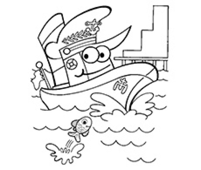 Best Boats And Ships Coloring Pages For Your Little Ones