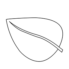 coloring pages of leaves # 4
