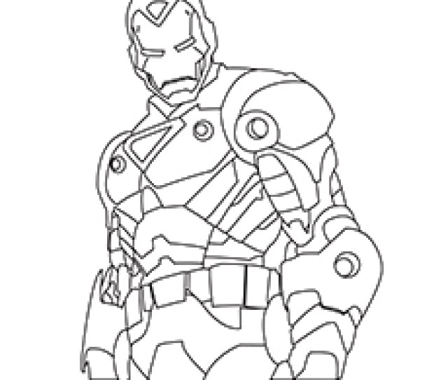 Top  Free Printable Iron Man Coloring Pages Online