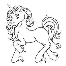 free unicorn coloring pages # 24