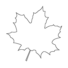 coloring pages of leaves # 2
