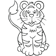 top 20 free printable tiger coloring pages online