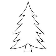 christmas trees coloring pages # 0