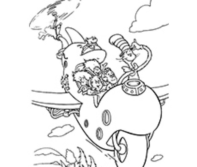 Top  Free Printable Cat In The Hat Coloring Pages Online