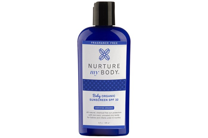 Nurture My Body Baby Organic Sunscreen