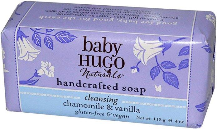 Baby Hugo Naturals Chamomile & Vanilla Baby Soap