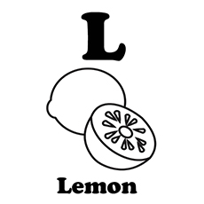 top 10 lemon coloring pages for toddlers