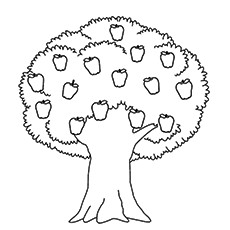 trees coloring pages # 3