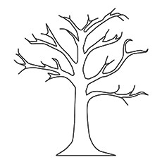 coloring pages of trees # 12