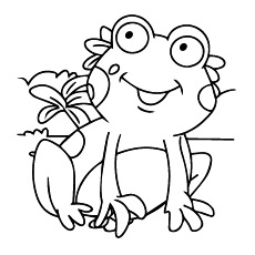 frogs coloring pages # 3