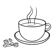 coffee coloring pages coffee and coffee beans coffee coloring pages