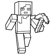 minecraft coloring pages to print # 0