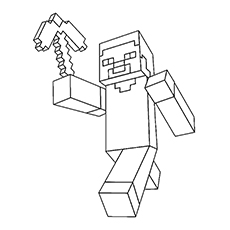 minecraft coloring pages to print # 3