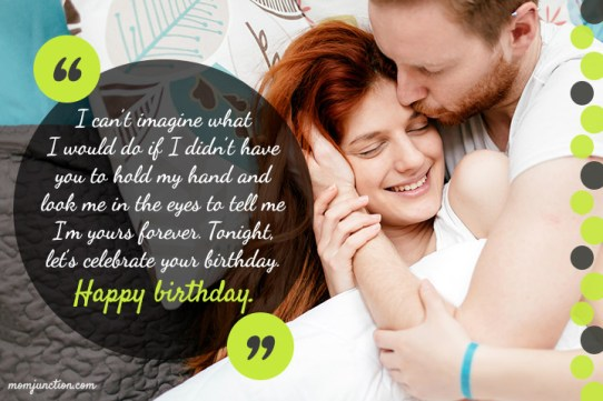 113 Romantic Birthday Wishes For Wife