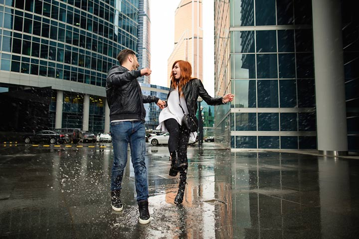 Play in Rain