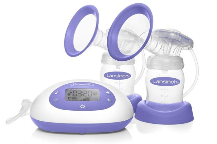 Signature Pro Double Electric Breast Pump By Lansinoh