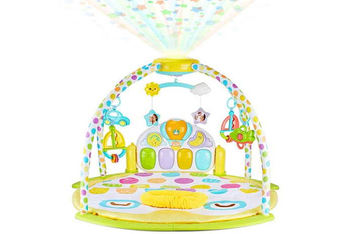 BabySeater Projector Baby Gym