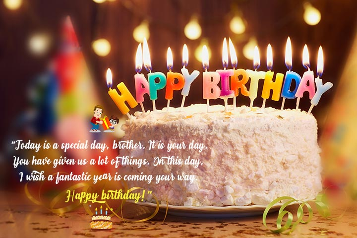 121 Heart Touching Happy Birthday Wishes For Brother