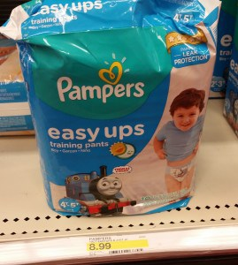 Pampers Easy Ups for $3.99