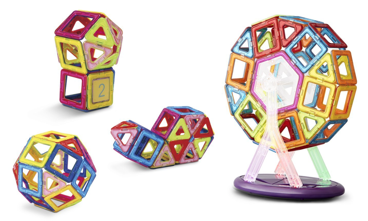 Amazon has the Keten 52-Piece Magnetic Building Blocks Set marked down to just $35.89 right now!