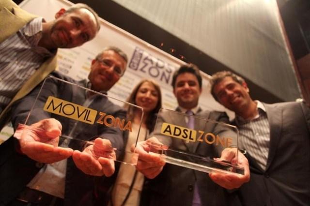 Gala de premios del Grupo ADSLZOne y Movilzona