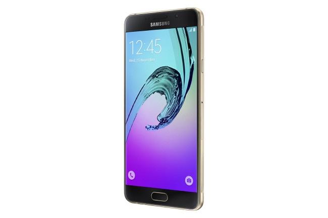 Samsung Galaxy A7 2016 negro y oro