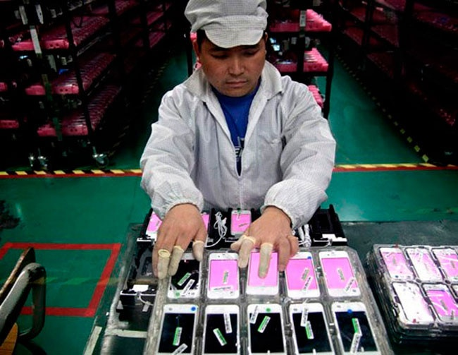 iPhone 6s fabricacion