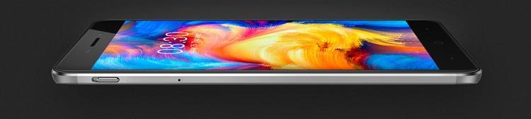 Pantalla 2.5D del Neffos X1 Max
