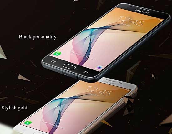 Samsung Galaxy J7 Prime blanco y negro