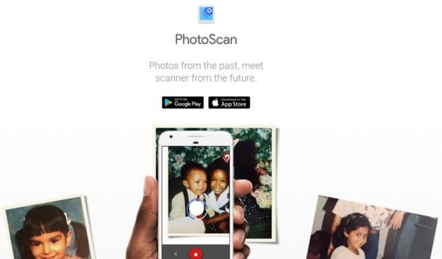 App PhotoScan para pasar fotografiás analógicas a digitales