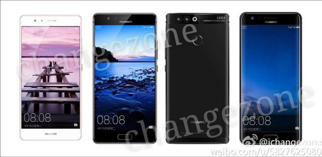 Fotos del Huawei P10 con pantalla curva