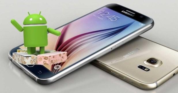 Android 7 para el Galaxy S6
