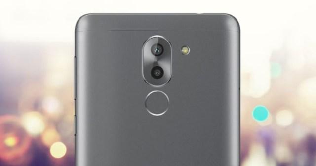 Huawei Mate nueve Lite plateado