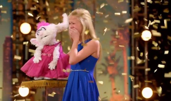 Watch: OKC singing ventriloquist Darci Lynne Farmer featured on ...