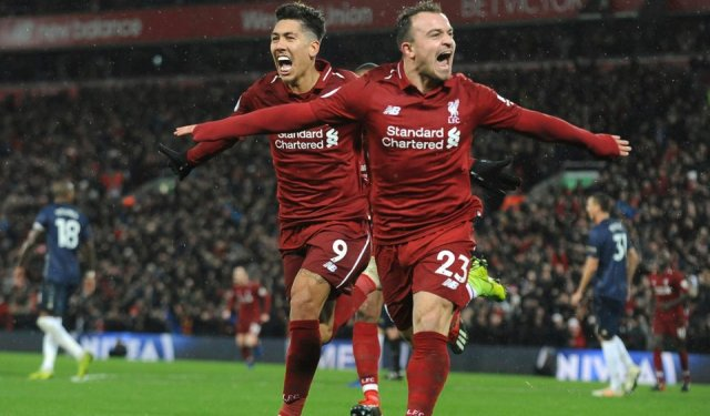 Image result for liverpool 3-1 manchester united